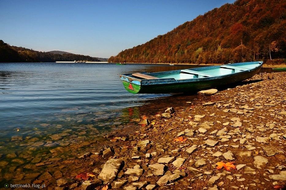 Jezioro Myczkowieckie.