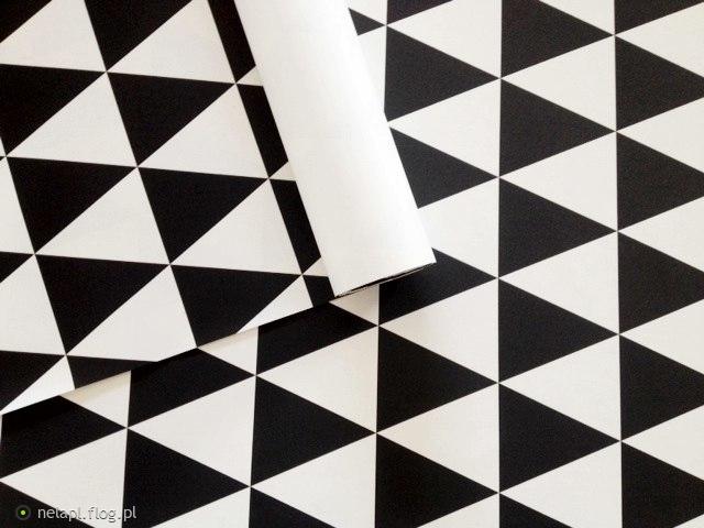 Tapety w romby, gwiazdki, trójkąty, zygzaki i kropki