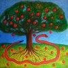 &quot;Drzewo poznania dob<br />ra i zła&quot;  :: akrył